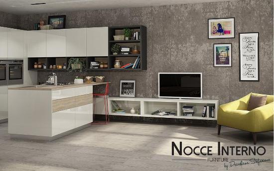 """Мебели по поръчка """"Nocce Interno"""" - Кухня """"Assenti"""""""