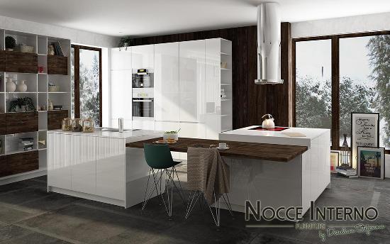 "Мебели по поръчка ""Nocce Interno"" - Кухня ""Delicata"""